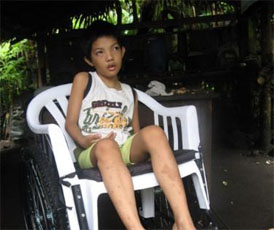 Disabled Children Get Free Wheelchairs in Guatemala