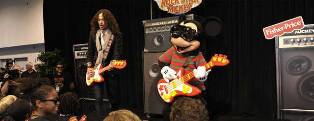 Rock Star Mickey