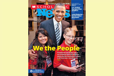Scholastic Kid Reporters Interview President Obama