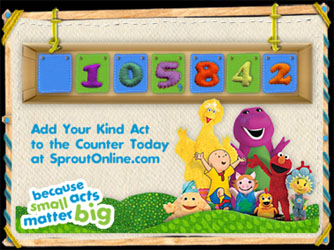 """Kindness Counts"" PSA Campaign for Preschoolers"