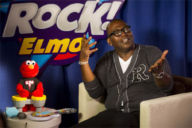 Randy Jackson Joins Hasbro for Let's Rock! Elmo