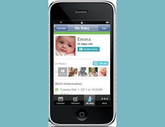My Baby Today App for Mobile Moms