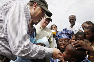 Gates Foundation Activities for World Polio Day