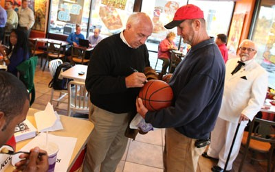Billy Packer Joins KFC Hunger Relief Effort