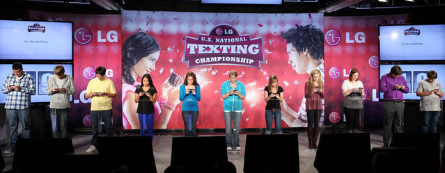 LG U.S. National Texting Championship