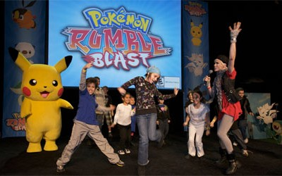 Pokémon Rumble Blast at New York Comic Con