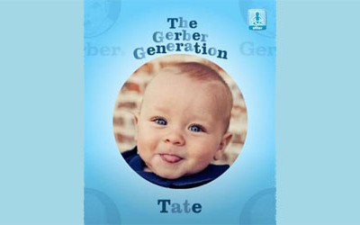 11-Month-Old Tate is Gerber's New Ad Star