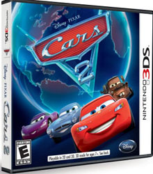 Disney Pixar Cars 2 Game for Nintendo 3DS