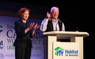 Jimmy and Rosalynn Carter to Build Homes in Haiti