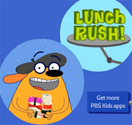 Free Fetch! Lunch Rush App for Kids