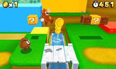 Mushroom Kingdom Goes 3D in Super Mario 3D Land