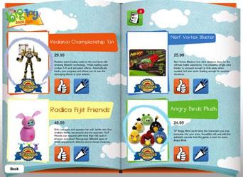 Toy Catalog App