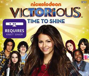 Victorious Games Based on Nickelodeon Show