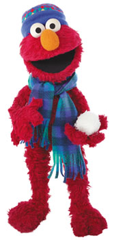 Sprout with Elmo