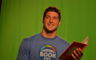Tim Tebow to Read for Pizza Hut Reading Program