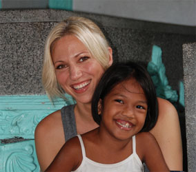 Debbie Gibson Wins to Help Poor Children