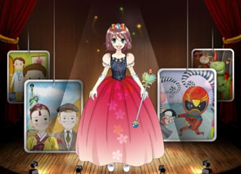 Play-Doll Mobile App to Create Stories
