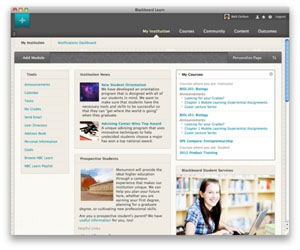 Blackboard Gets Updated for Online Learning