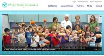 Michelle Obama for Chefs Move to Schools Program