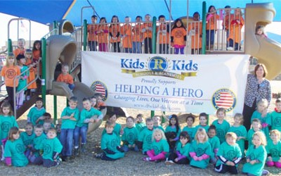 Kids 'R' Kids Supports Helping A Hero