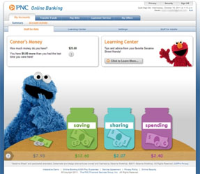 Kids Learn with PNC Bank and Sesame Street