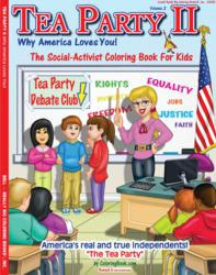 Really Big Tea Party Coloring Book