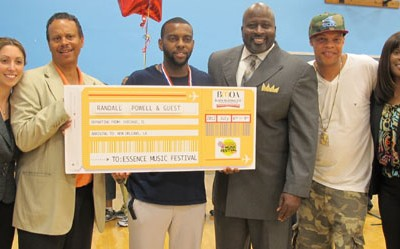Teachers Win Tickets for Essence Music Festival