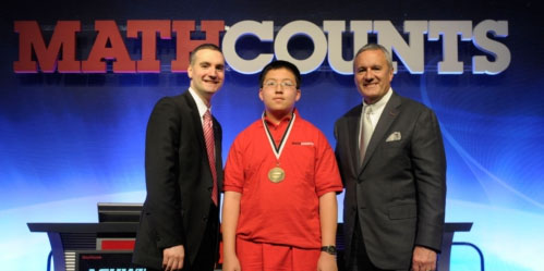 Raytheon Mathcounts Champion Chad Qian