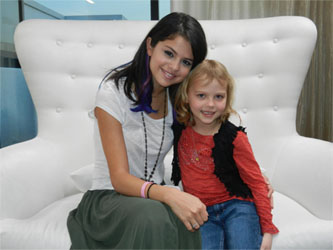 Selena Gomez Grants Make-A-Wish Kid's Wish