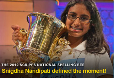 Snigdha Wins Scripps National Spelling Bee