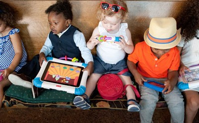 Digital Kids Want Touch-Screen Technology
