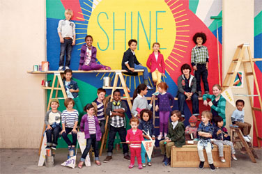 "GapKids ""Shine On"" in Back-to-School Campaign"