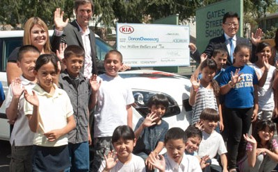 Kia Motors' Help for Public School Students