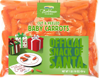 Santa to Switch from Cookies to Carrots