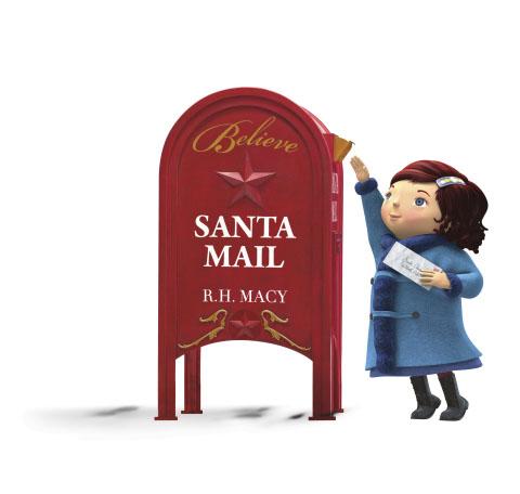 Macy's Believe Santa Mail letterbox