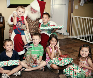 Read, Learn and Be Merry with Santa Claus