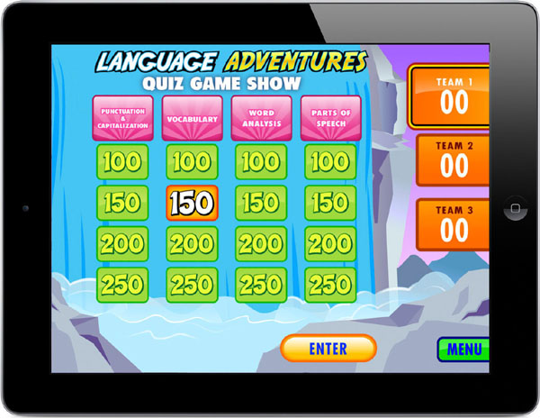 Language Adventures Quiz Game Show