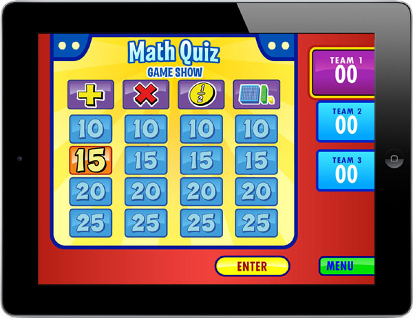 Math Quiz Game Show