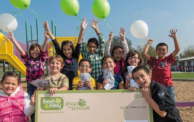 Fresh & Easy Help Comes for Schools