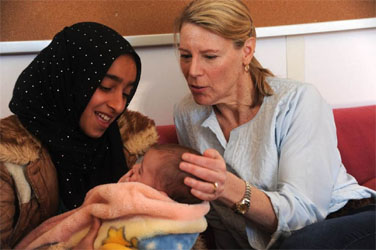 Carolyn Miles Visits Syrian Refugees in Jordan