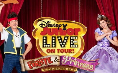 Pirate and Princess Going Live on Tour
