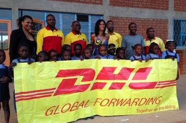 DHL Services to Help Children in Congo
