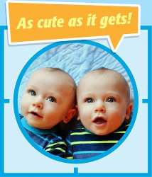 Twins Are the Best in Gerber Photo Search