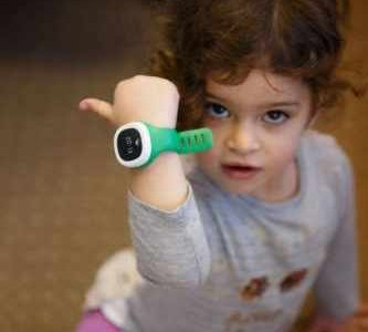 "Here's the ""World's Smallest"" GPS Watch for Kids"