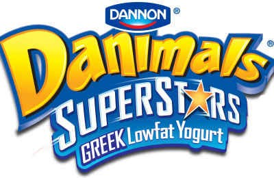 Danimals SuperStars Greek Lowfat Yogurt for Kids
