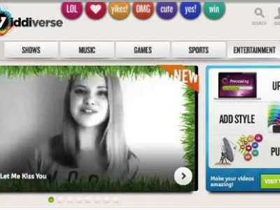 Viddiverse Online Video Network Opens for Kids