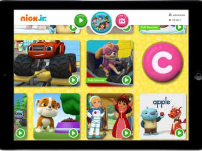 Nick Jr. App Features Preschool Content and TV Everywhere