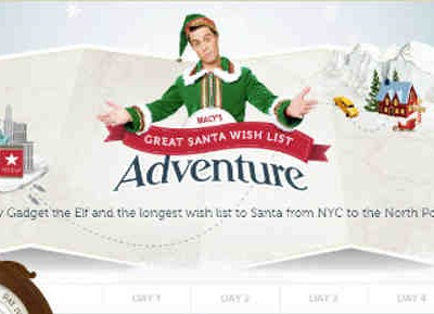 Macy's Guinness World Record: Longest Wish List to Santa