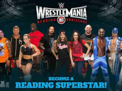 2015 WrestleMania Reading Challenge Launched