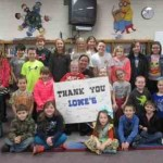 The Lowe's Charitable and Educational Foundation awarded North Coffee Elementary a $14,000 grant for new library furniture and flooring.